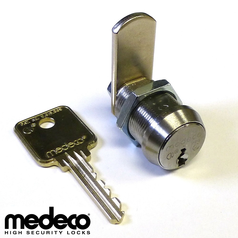 High Security Medeco Cam Lock Kit With Length And Keys Options